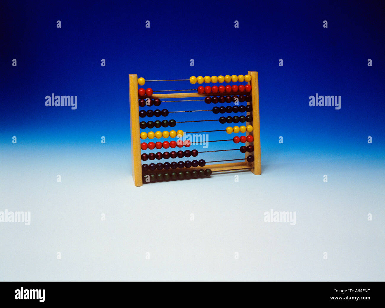 abacus for infants - Stock Image