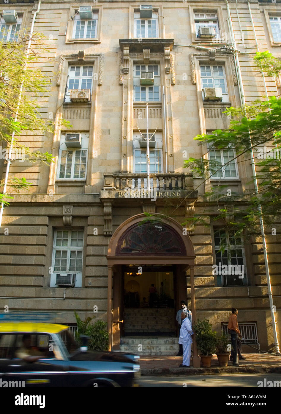 Good Bombay House Tata Headquarters In Mumbai India