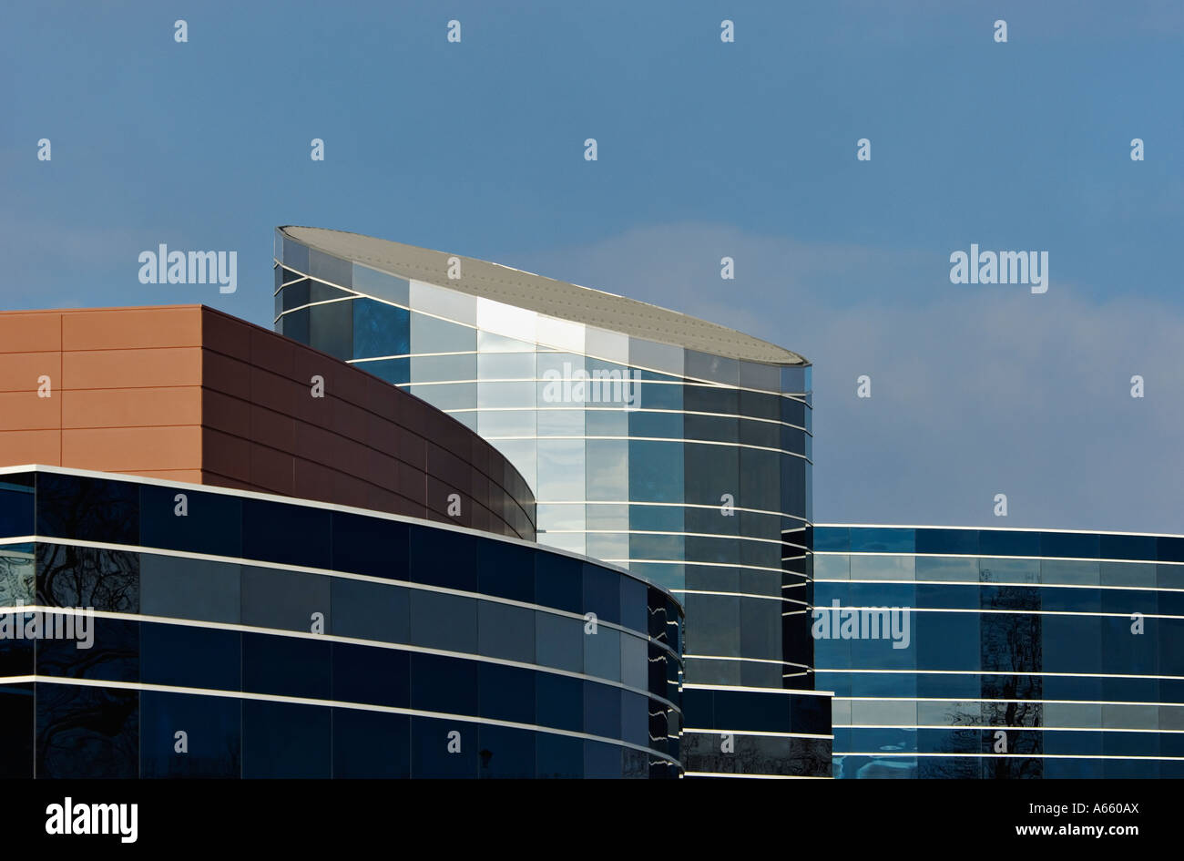 New Addition to Floyd Memorial Hospital New Albany Indiana - Stock Image