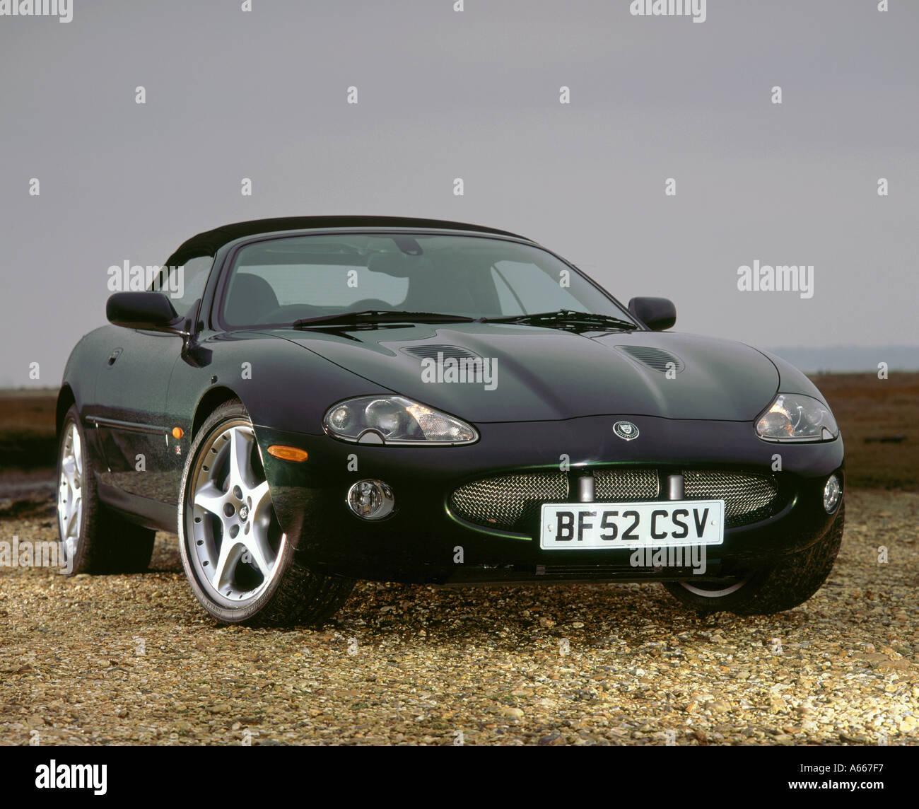 Jaguar Xk Convertible: Jaguar Xkr Convertible Stock Photos & Jaguar Xkr