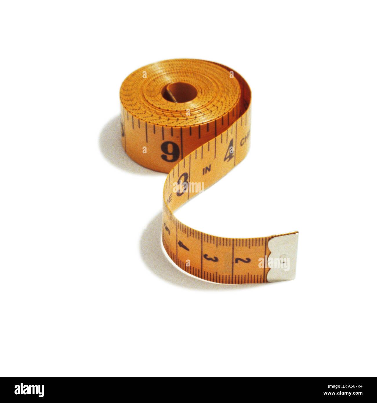 A tape measure - Stock Image