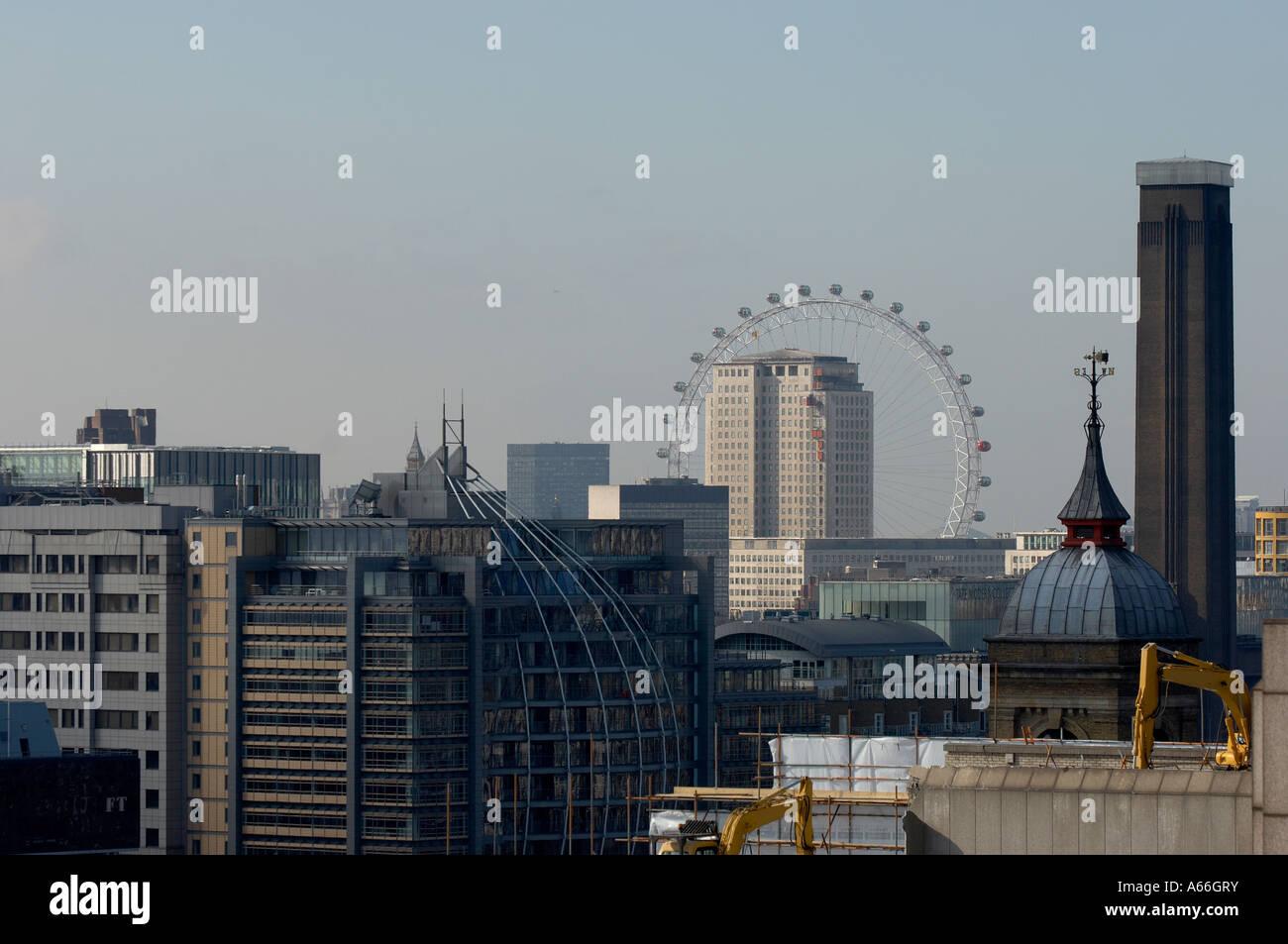 London skyline - Stock Image