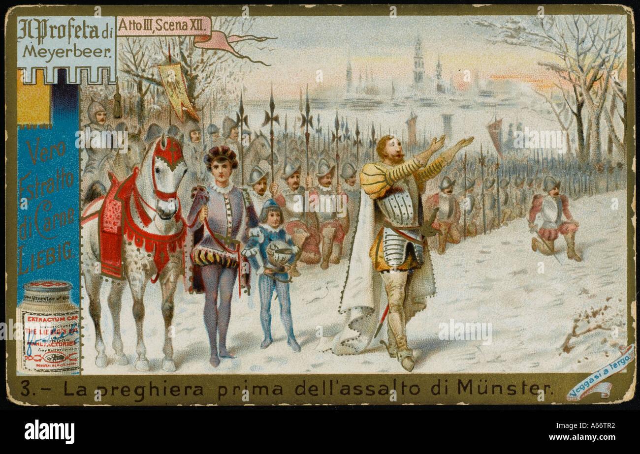 Meyerbeer Prophete L3 - Stock Image