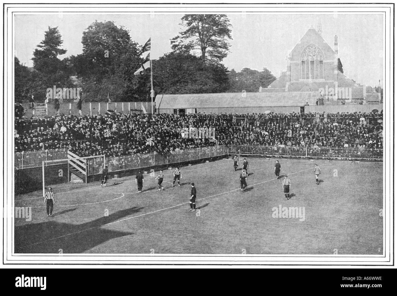 Southampton Play At Dell - Stock Image