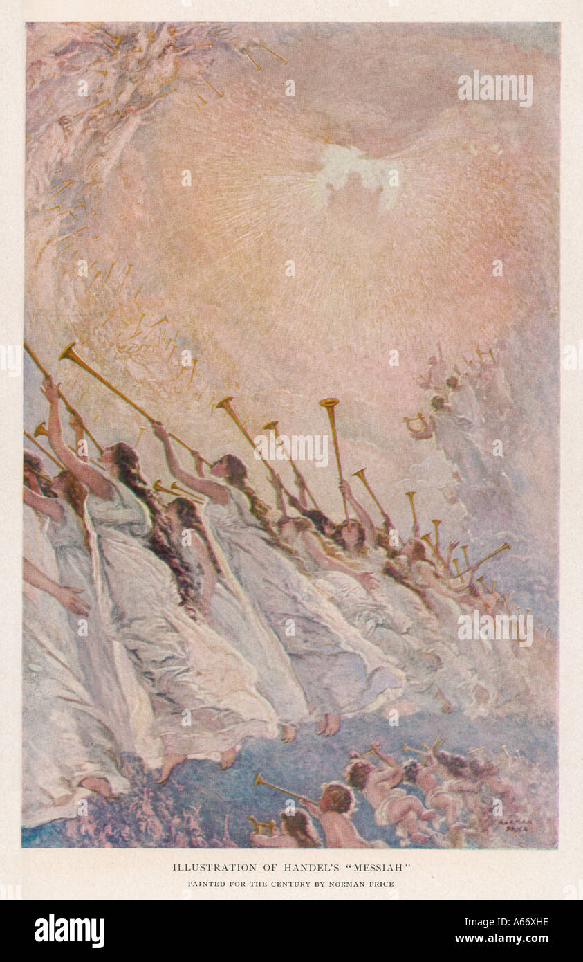 Handels Messiah - Stock Image