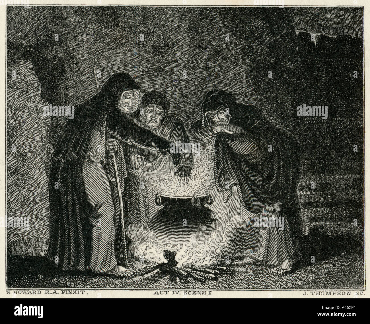 analysing the witches prophecies in macbeth by william shakespeare From plot debriefs to key motifs, thug notes' macbeth summary & analysis has you covered with themes, symbols, important quotes, and more this week's episode is macbeth by william shakespeare.