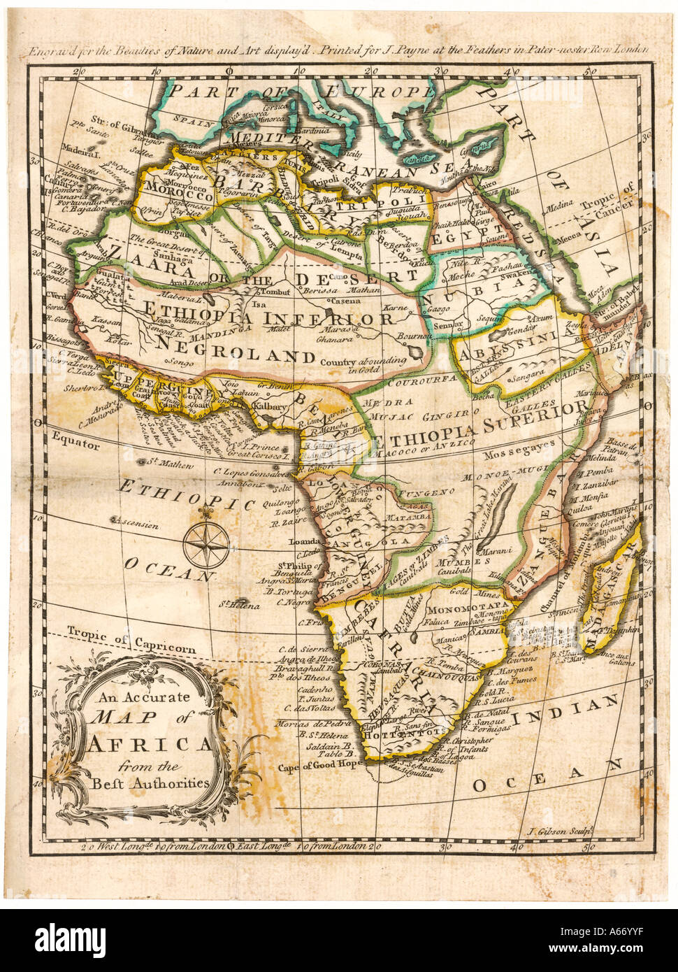 Historical Map Africa Stock Photos & Historical Map Africa