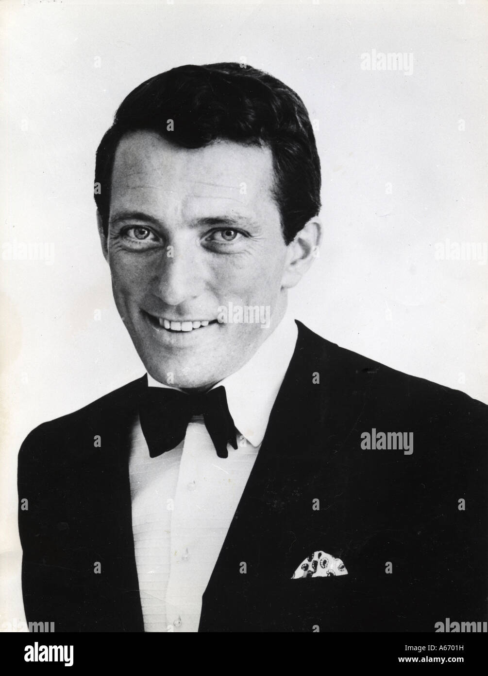 ANDY WILLIAMS US singer - Stock Image