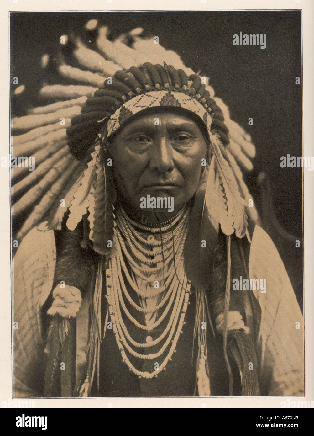 Racial Joseph Nez Perces - Stock Image