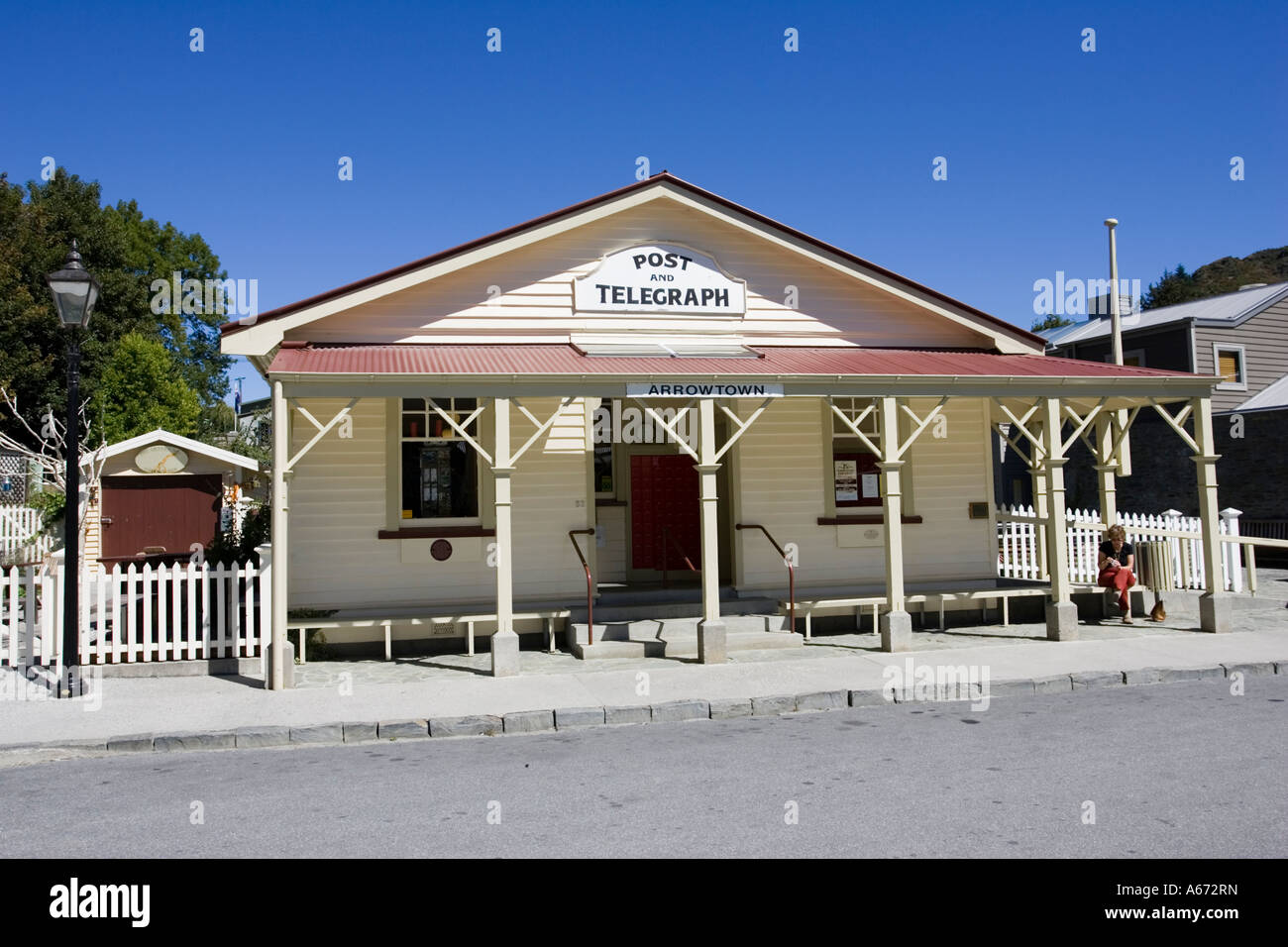 Old Post And Telegraph Building Historic Former Goldrush Town Of