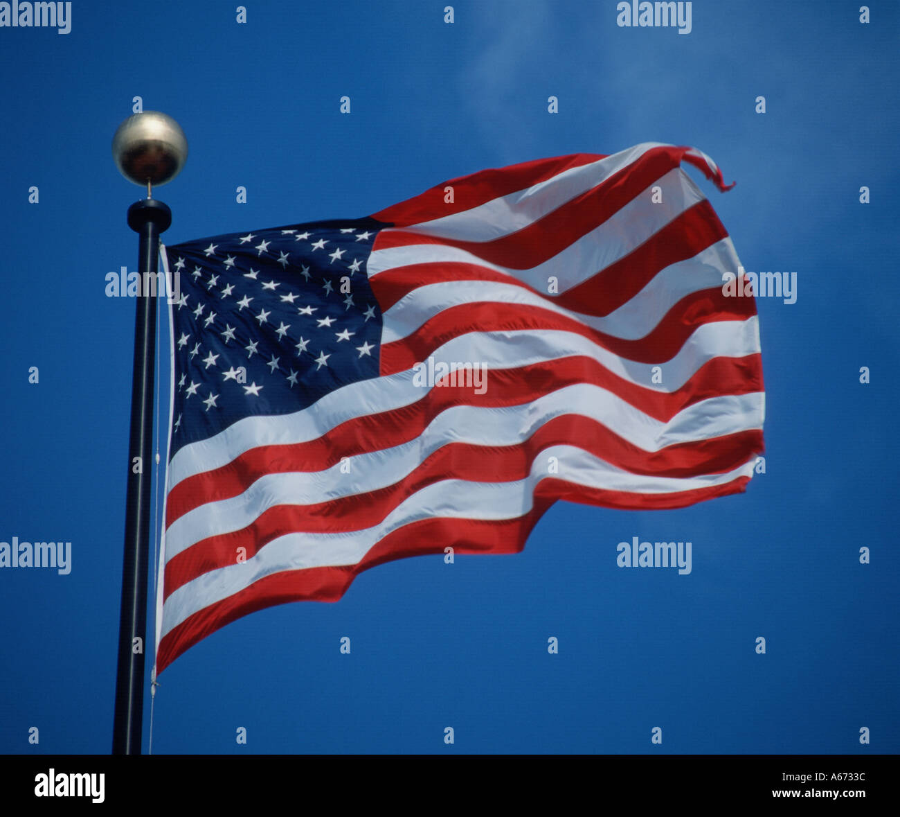 American  flag United States of America - Stock Image