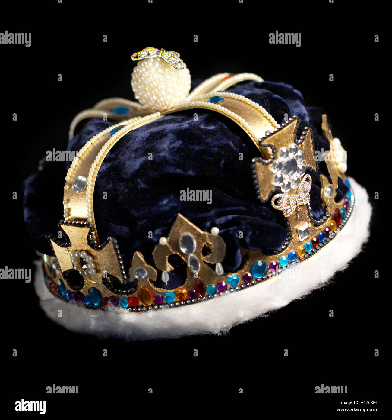 Fake Crown Royalty Concept - Stock Image