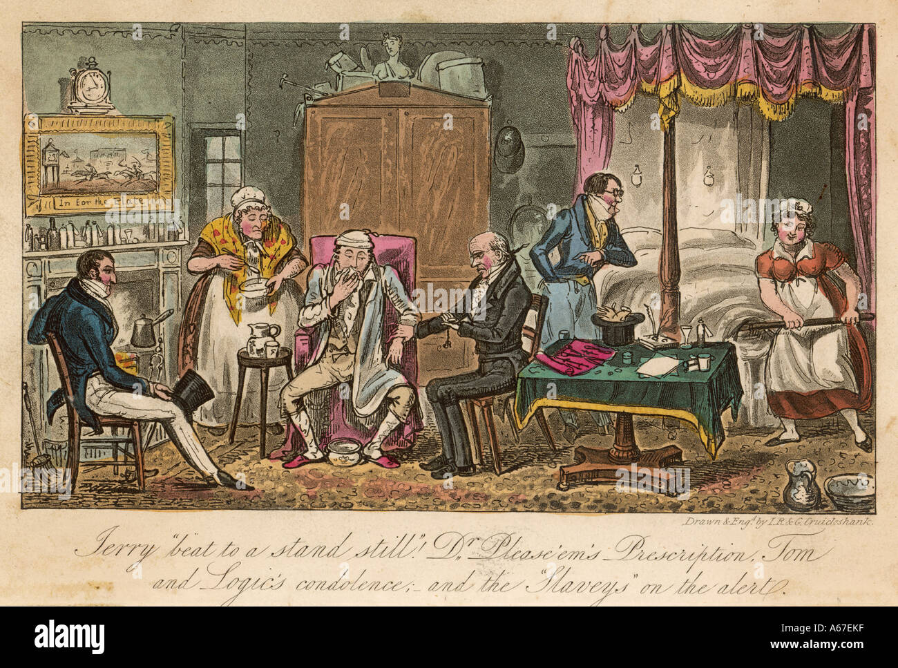 Egan Life In London 1820