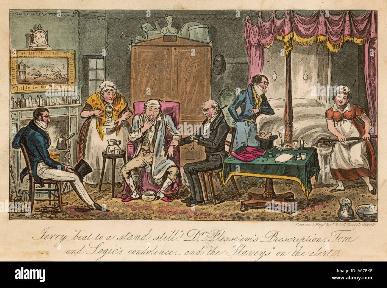 Egan Life In London 1820