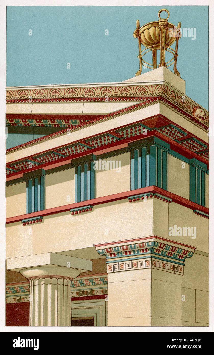 Doric Temple - Stock Image