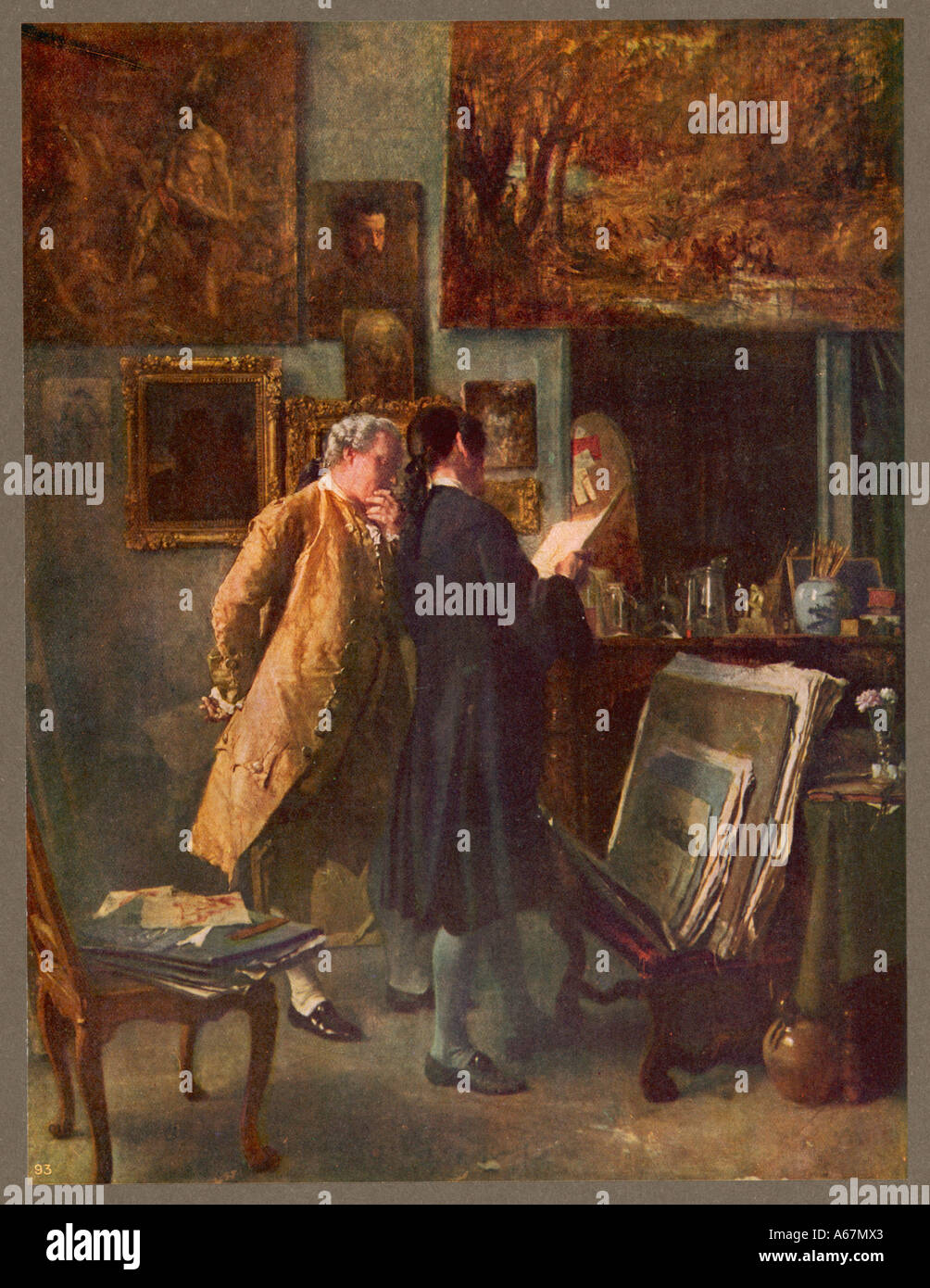 Print Collector C18 - Stock Image