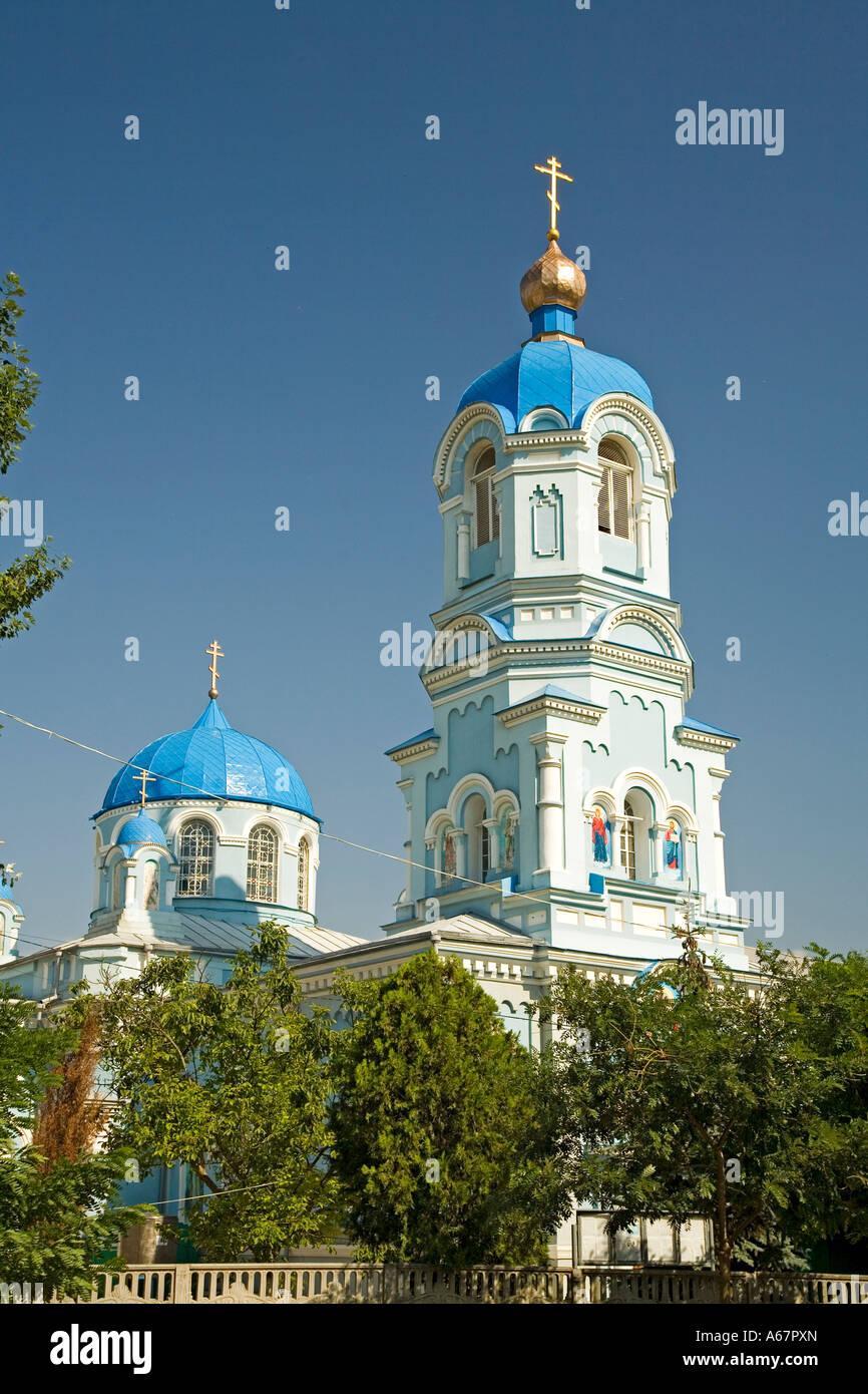 Church of Saki, Crimea, Ukraine, South-Easteurope, Europe, - Stock Image