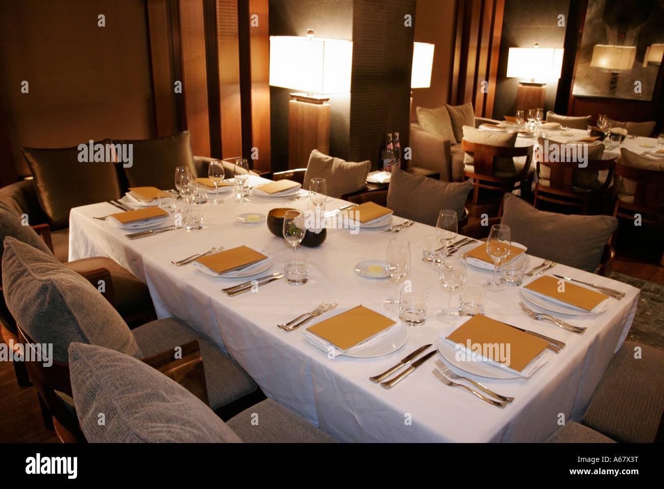 Miami Beach Florida South Beach Setai Hotel Restaurant
