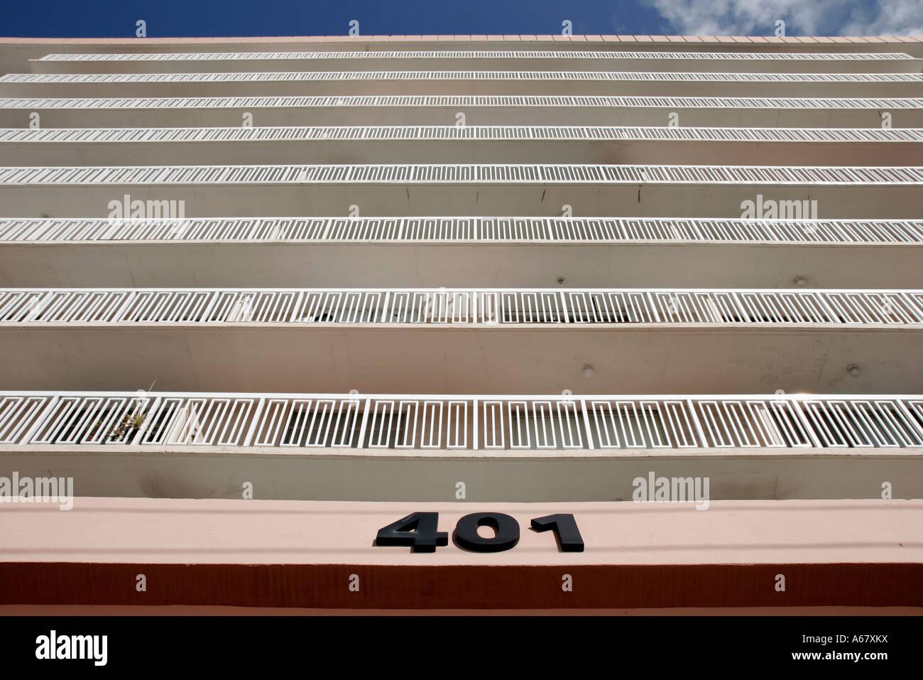 Miami Beach Florida Ocean Drive Presidential Condominiums