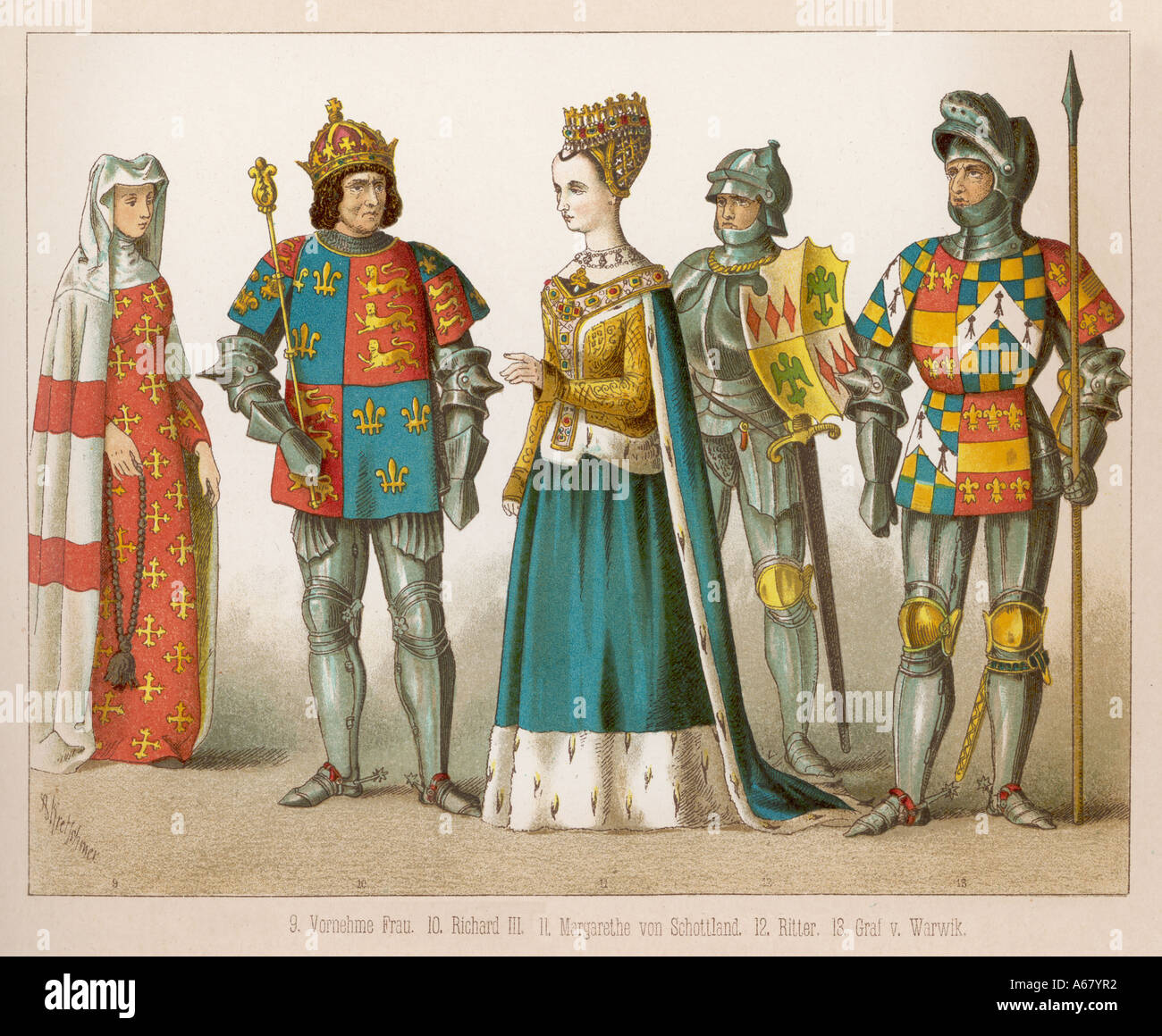 English Lady & Knight on Behance