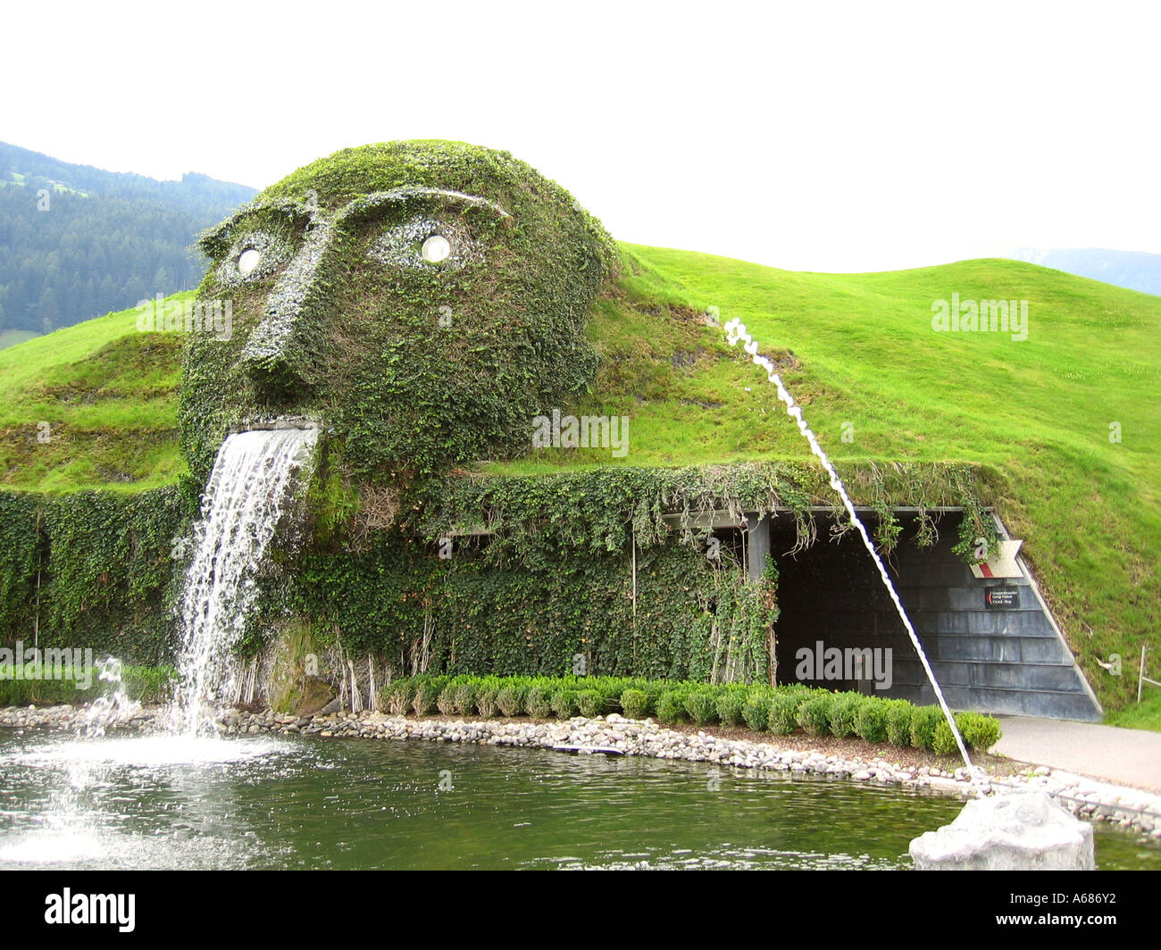 b03c53611bf838 Entrance to Swarovski Crystal World Wattens Tirol Tyrol Austria ...