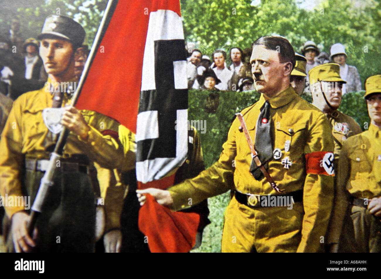 an analysis of the effects of adolf hitler and the nazi party in germany Adolf hitler (1889 - 1945)  rise of the nazi party hitler  the onset of the great depression with its devastating effects on the middle classes helped hitler to .