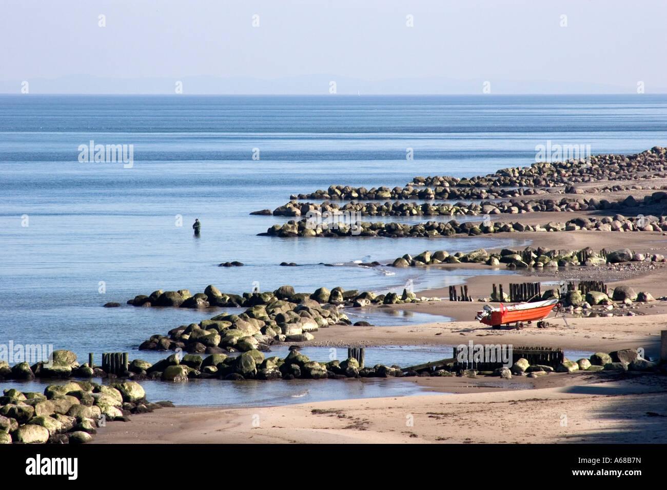 Tisvildeleje on the north coast of Zealand, Denmark - Stock Image