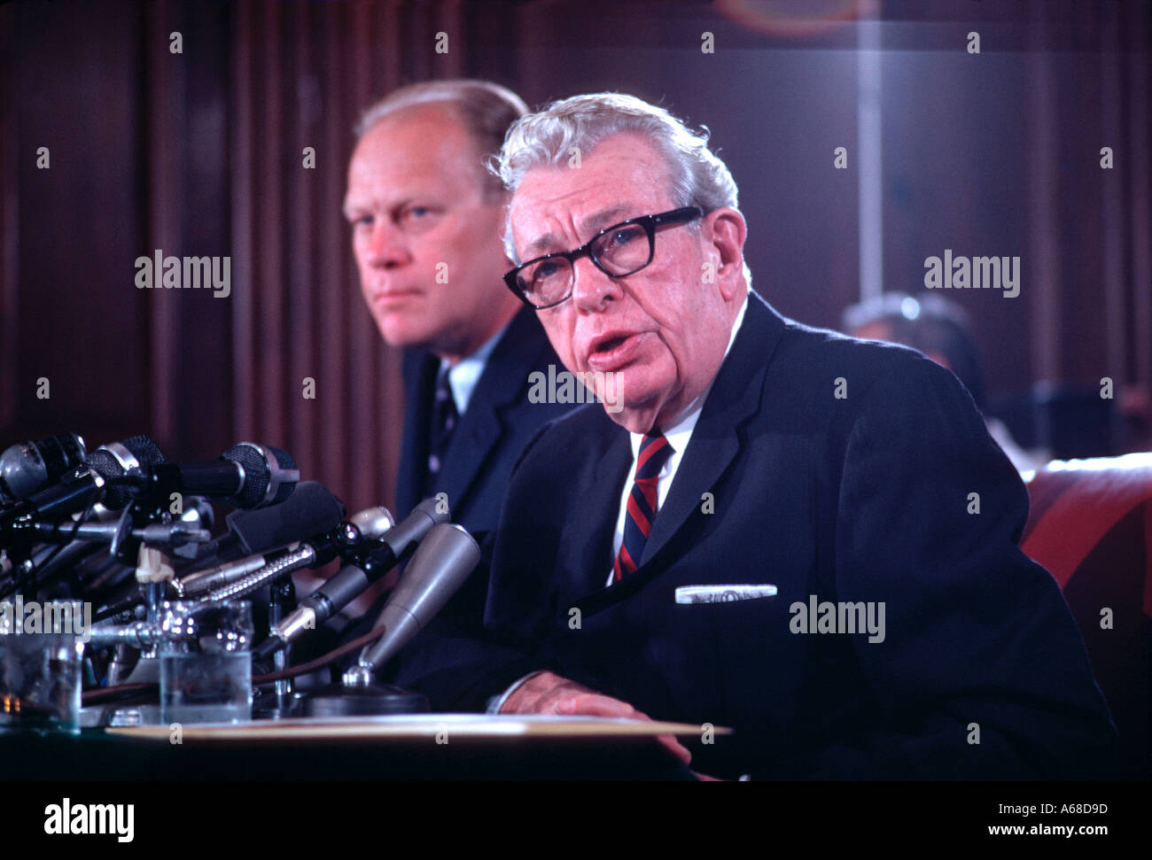 Vice President Gerald Ford Stock Photos Amp Vice President