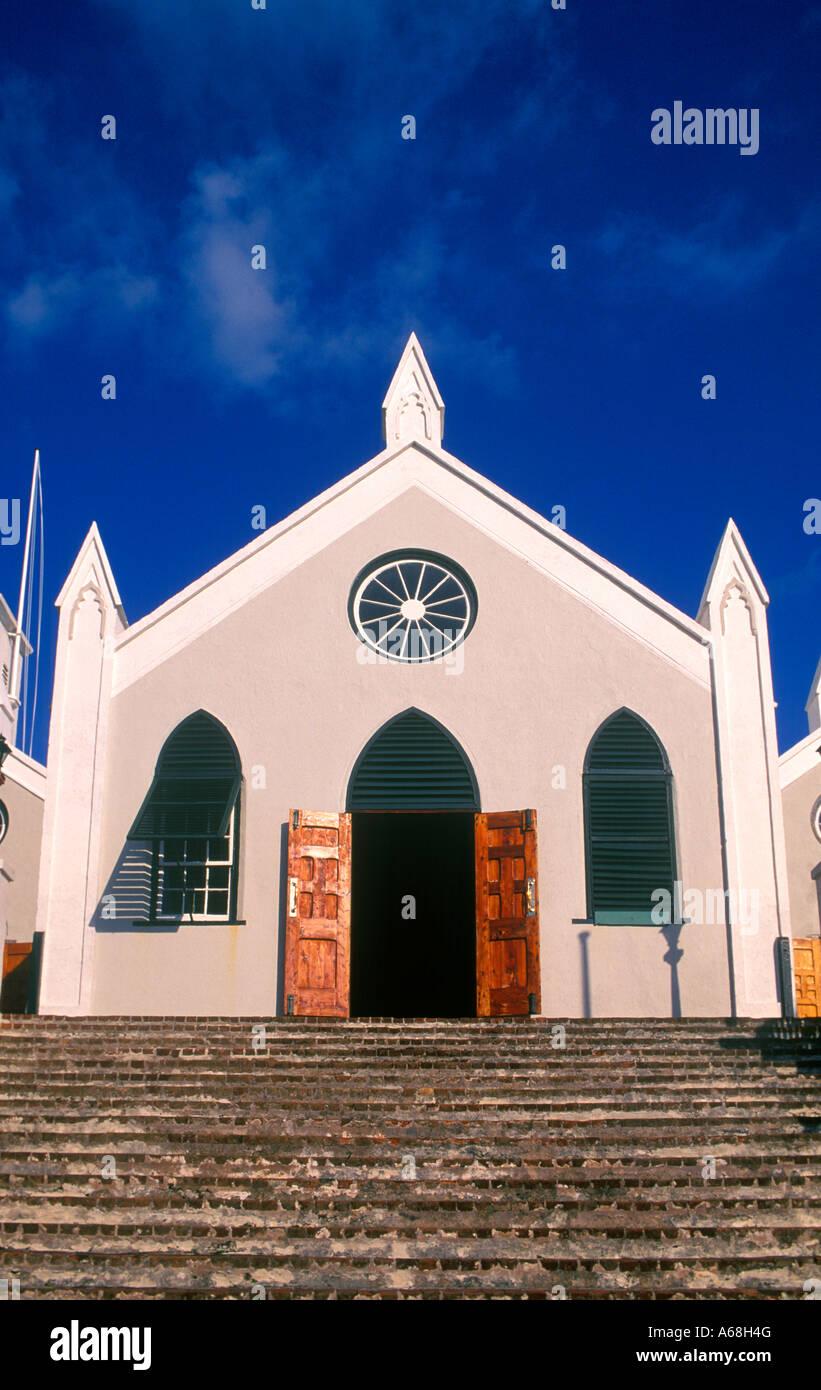 St Peter s Church of St George Bermuda - Stock Image