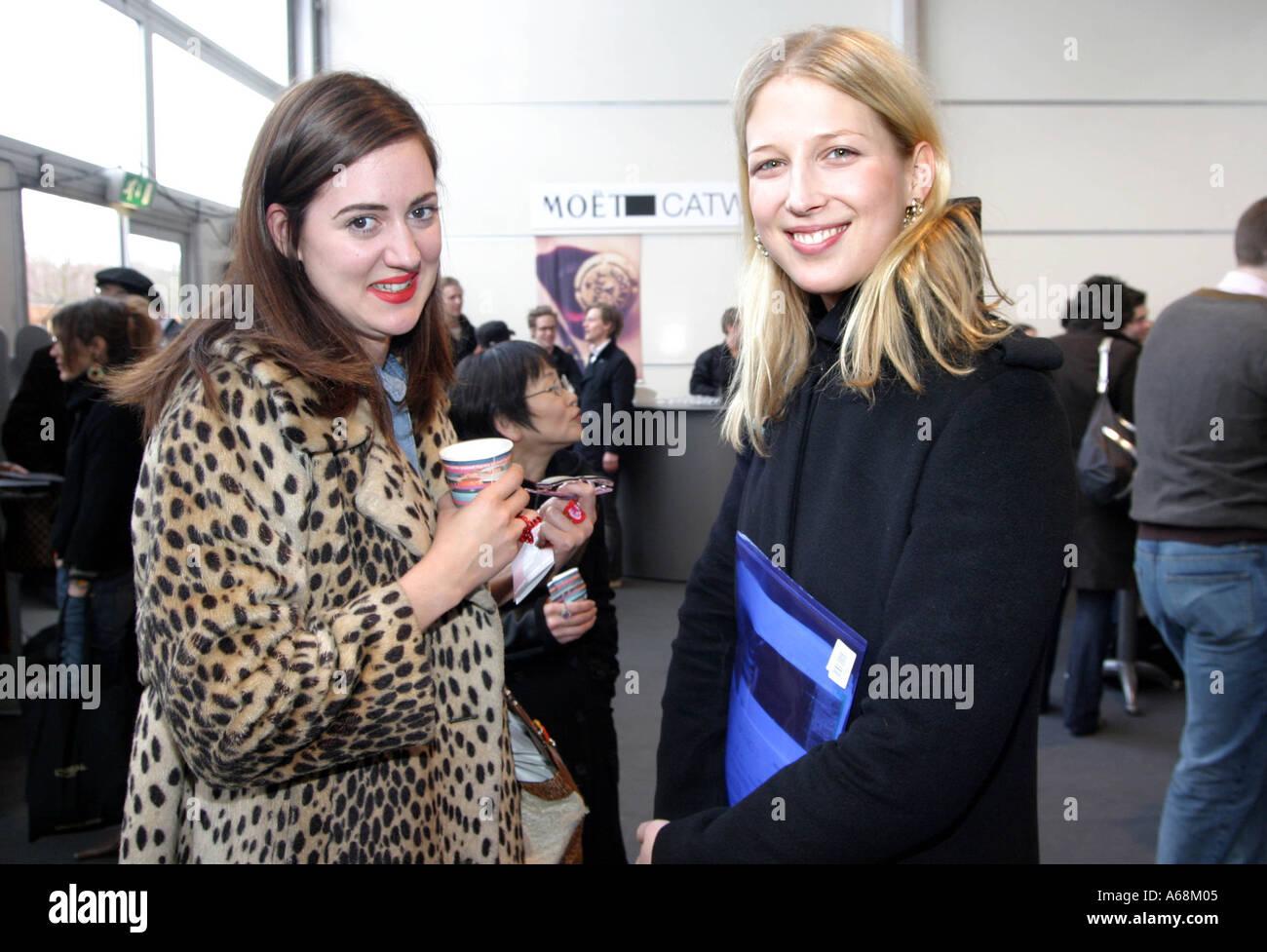 F.A.M.E. Team Head Backstage at London Fashion Week
