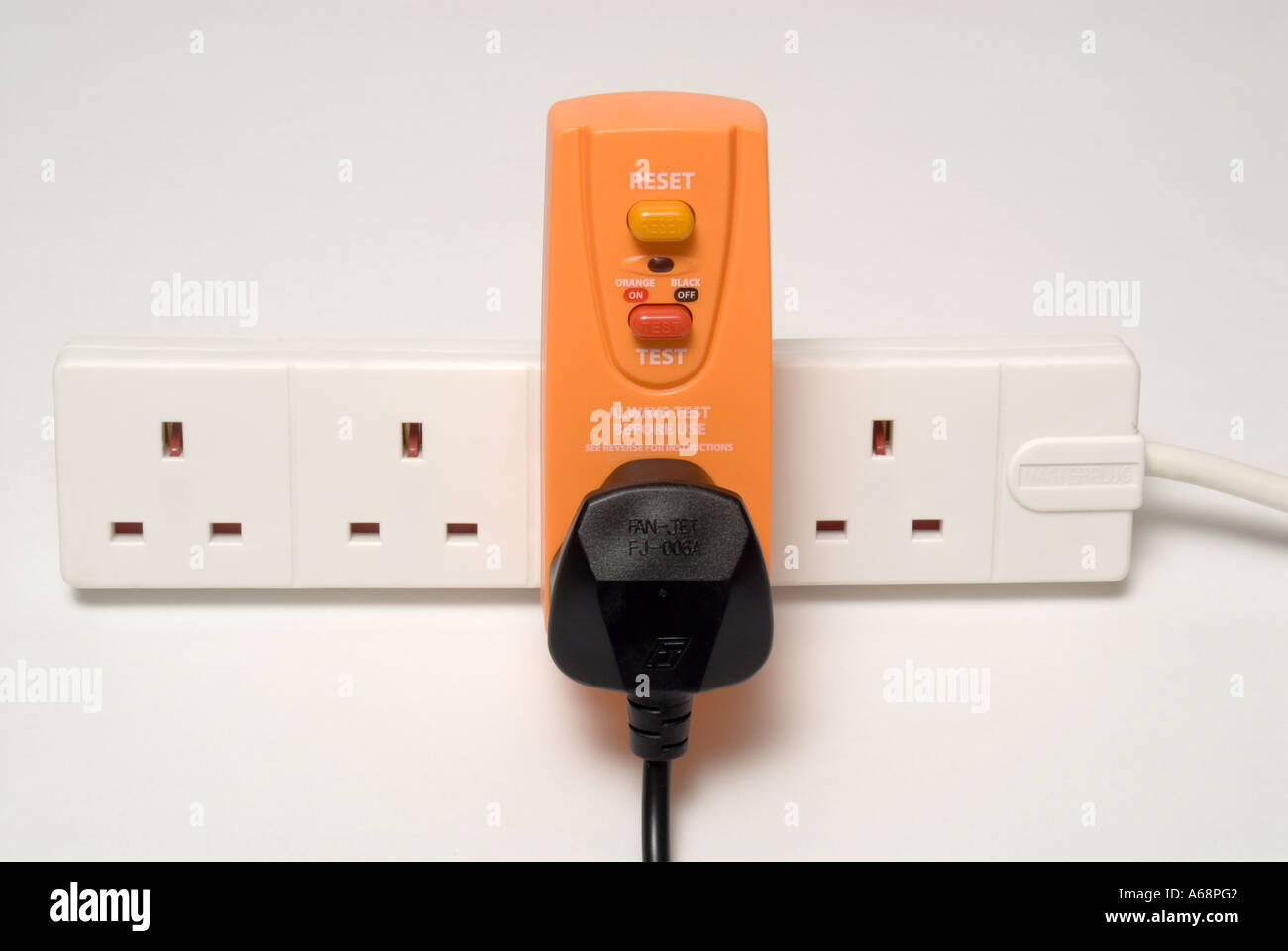 How To Reset Your Gfci Outlets And Circuit Breakers Breaker Plug Stock Photos Rcb Residual Current In Device Help Protect Users From Electrocution Whilst Using