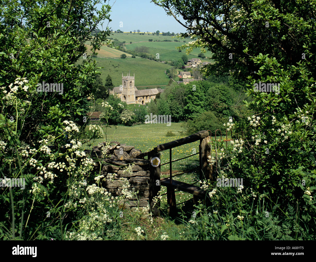 Country Stile Cotswolds Stock Photos Country Stile Cotswolds Stock