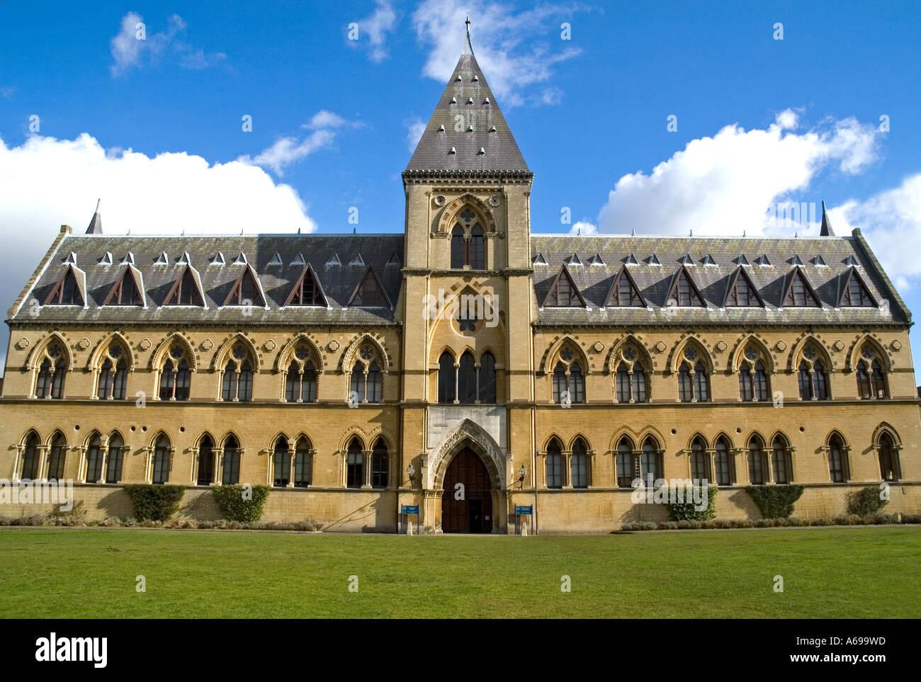PITT RIVERS MUSEUM OXFORD - Stock Image