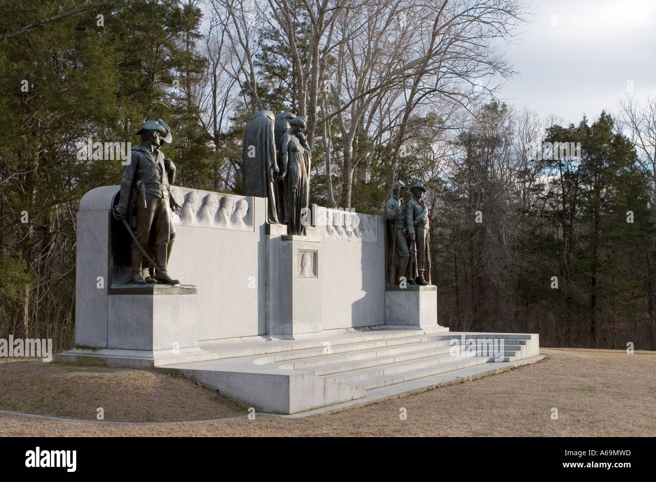Shiloh Civil War Military Park Tennessee - Stock Image