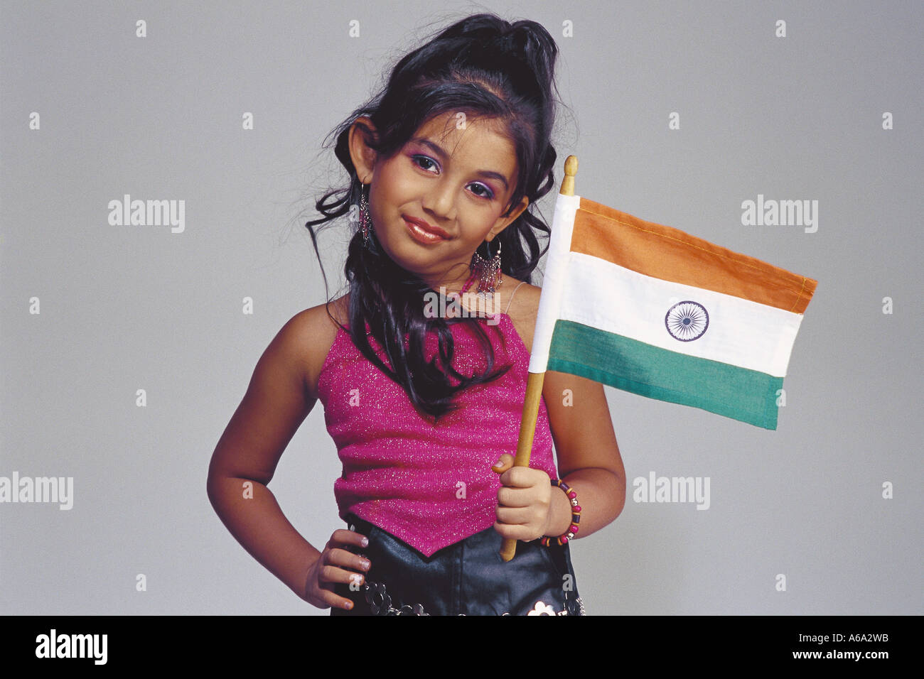 7fe9d1f7ce VDA77144 Model Girl Wearing A fancy Dress model actress Holding The Indian  Flag MR#501