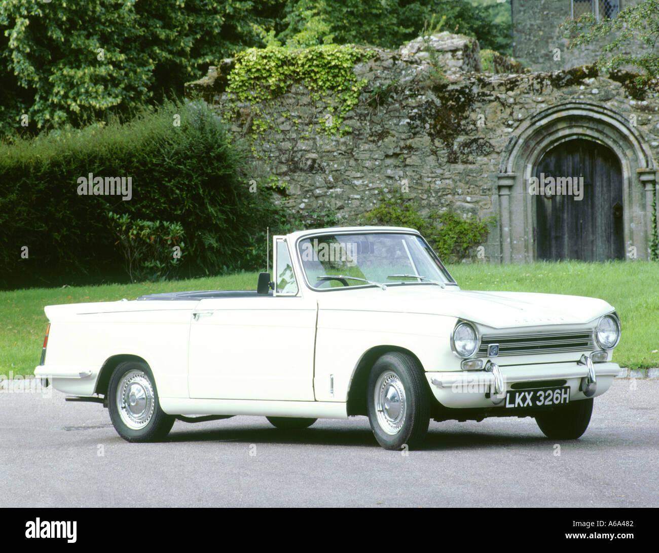 1968 Triumph Herald 1360 convertible - Stock Image