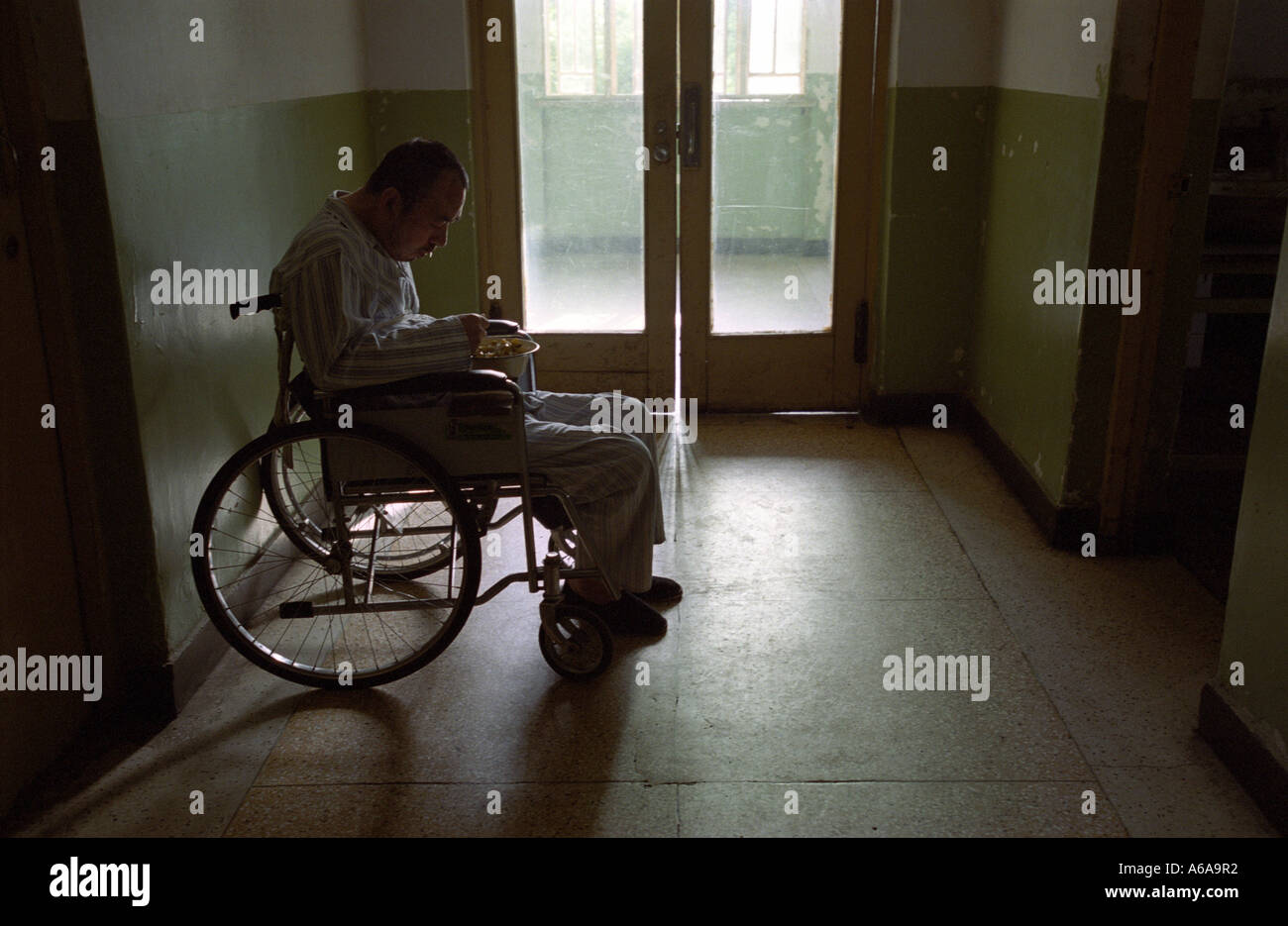 A Mental Patient At Psychiatric Hospital In Beijing China
