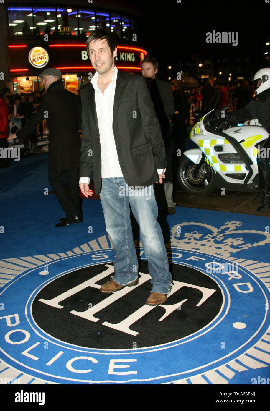 Paddy Considine in Leicester Square West End London England GB UK 2007 - Stock Image