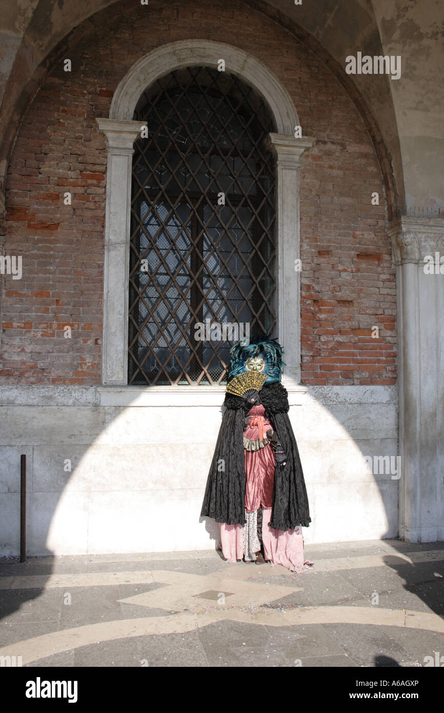 Carnival in Venice, UNESCO World Heritage Site, Italy, Europe. Photo by Willy Matheisl - Stock Image