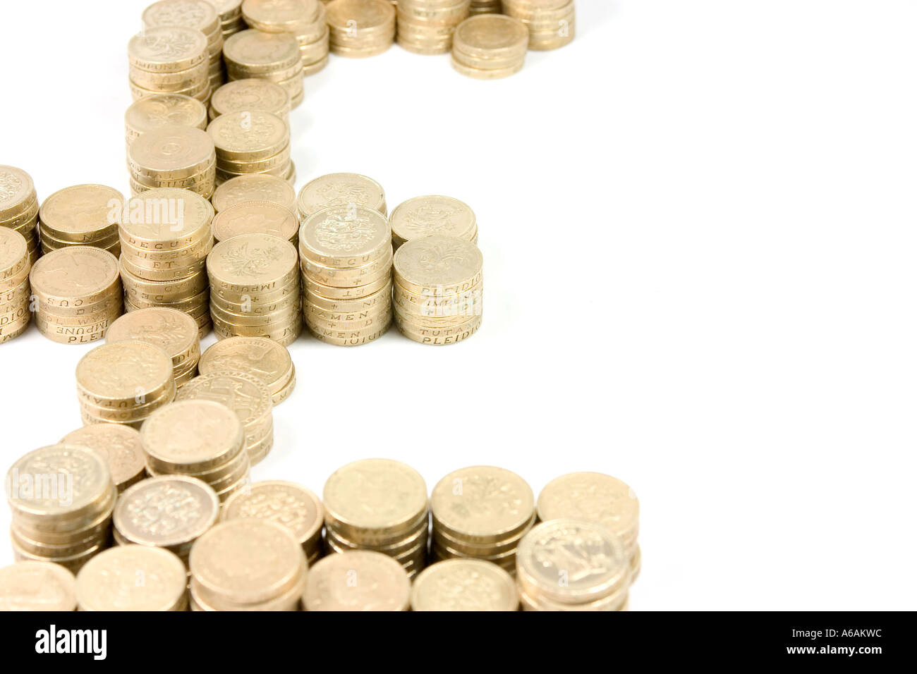 British Pound Symbol In British Pounds Stock Photo 6580443 Alamy