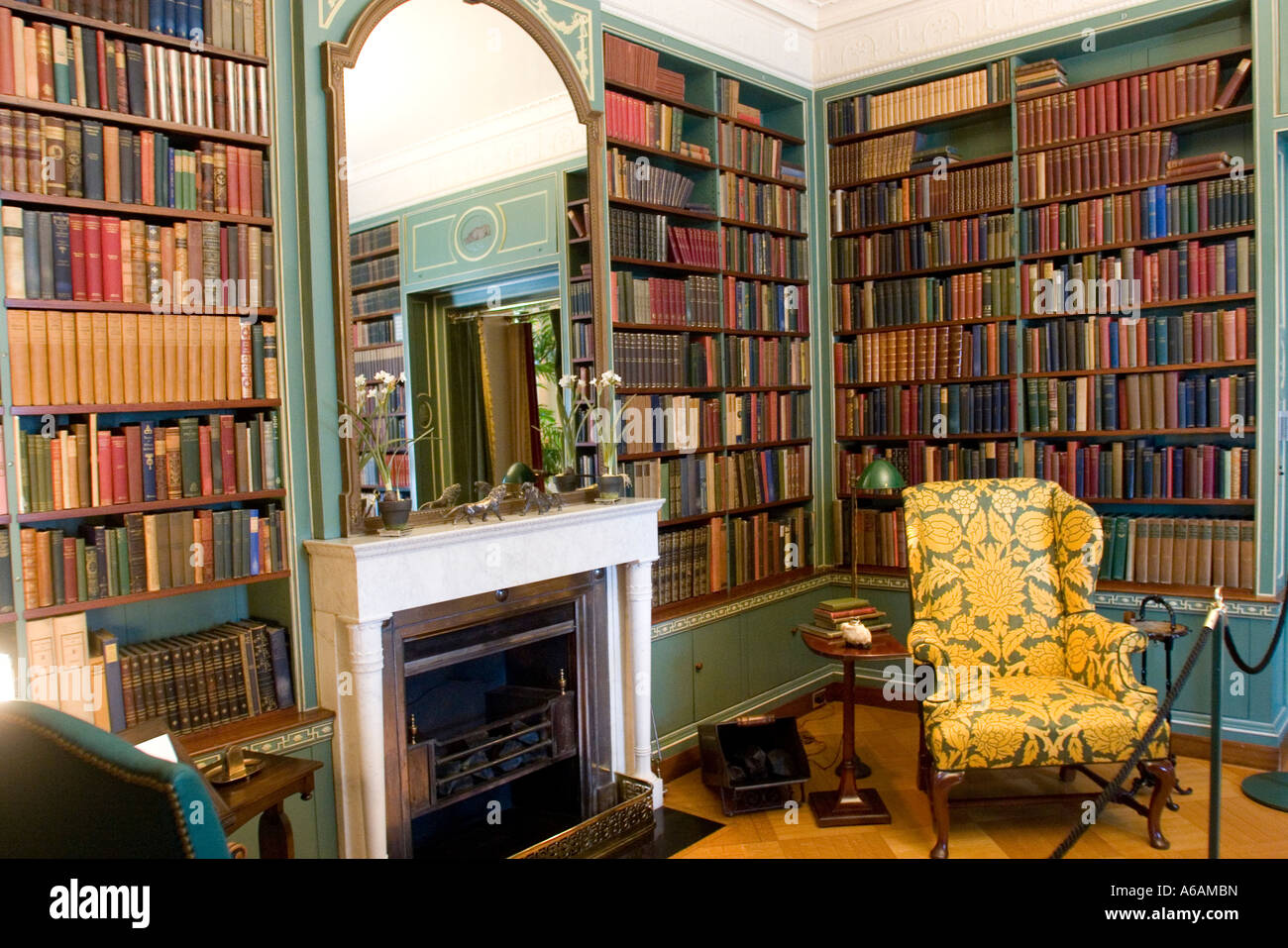 Library Interior Of George Eastman House Rochester NY USA