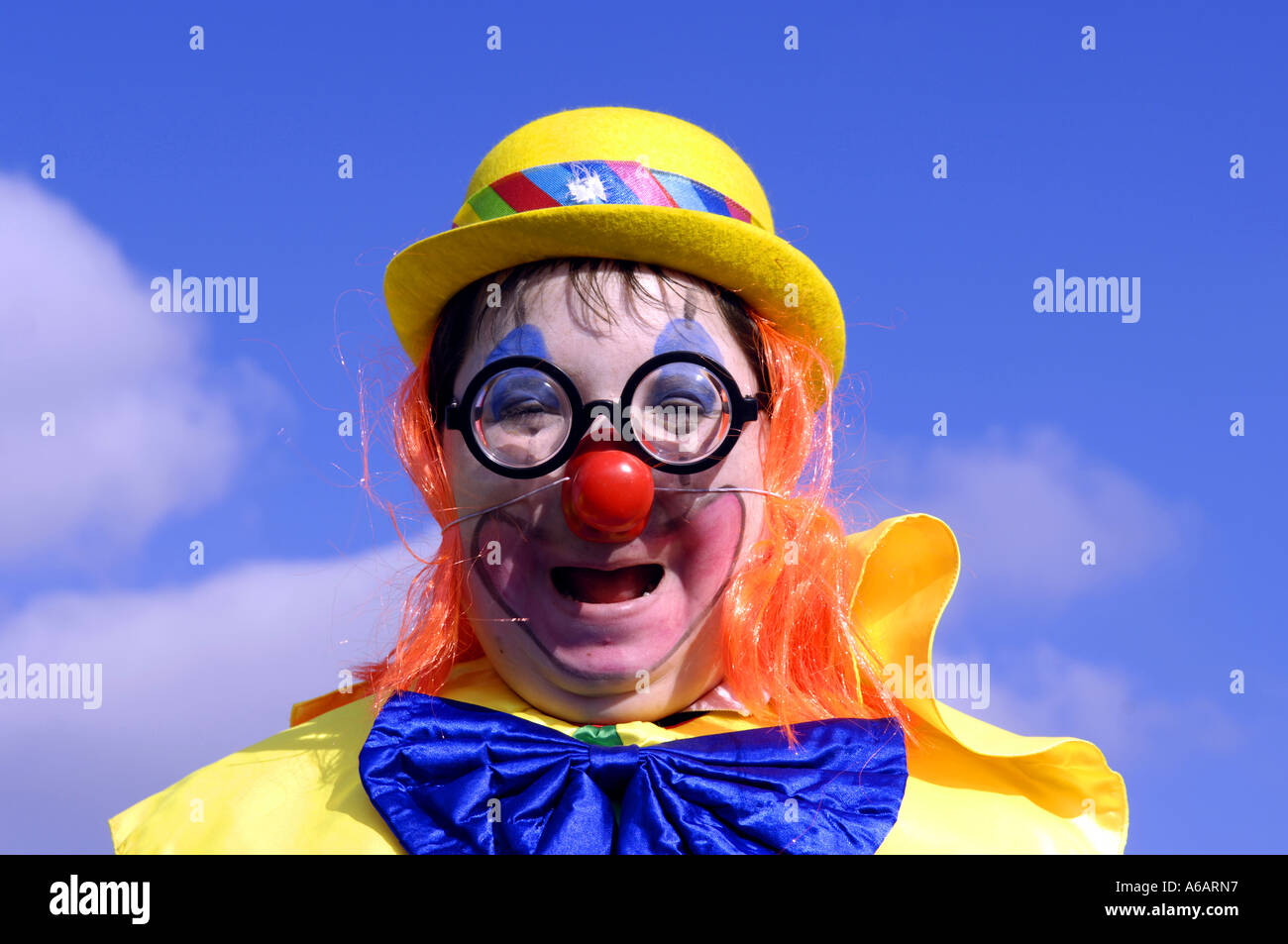Carnival Karneval Clown Kid Boy Stock Photos Carnival Karneval
