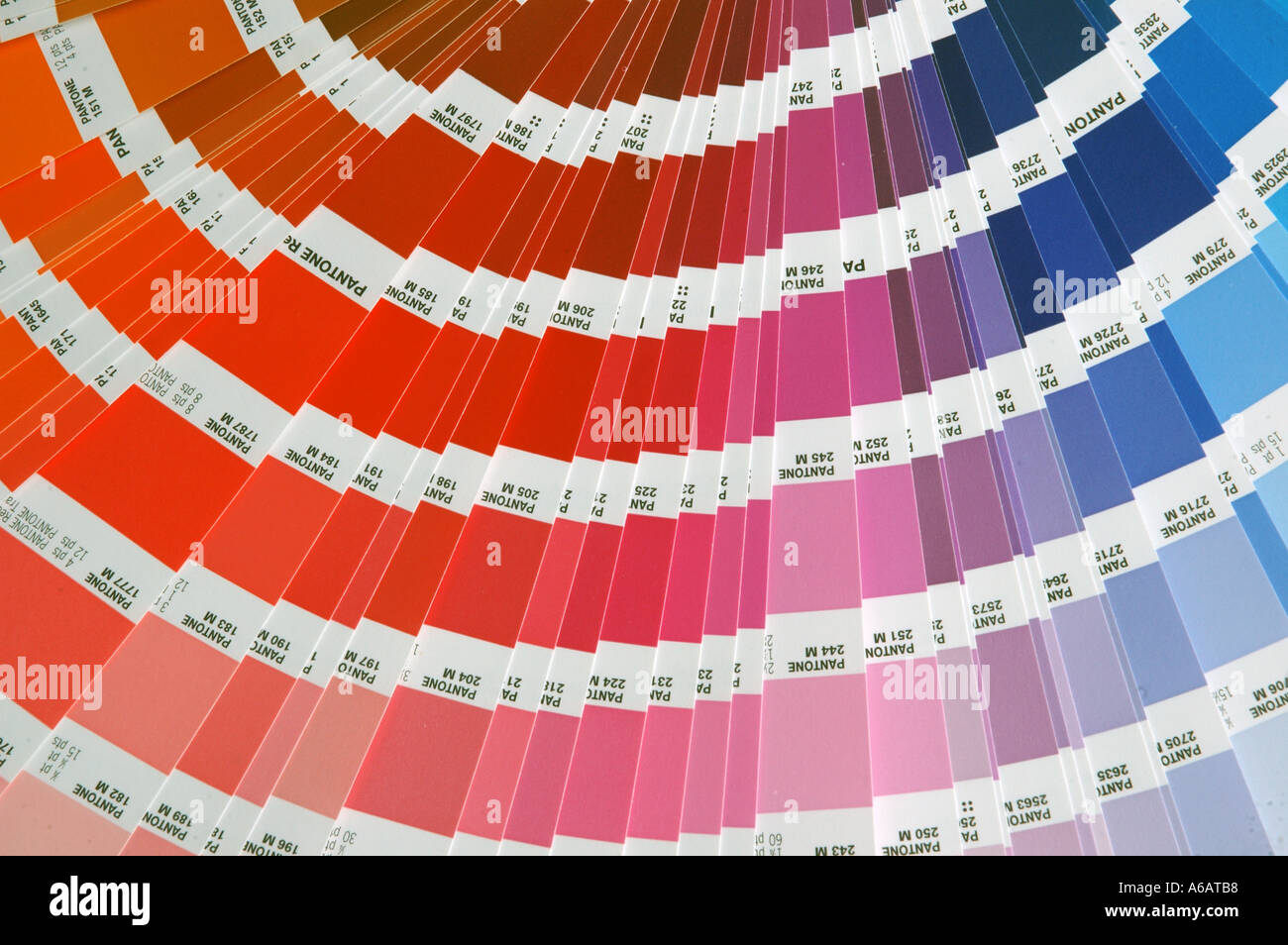 Pantone printing industry standard colour charts dsca 2147
