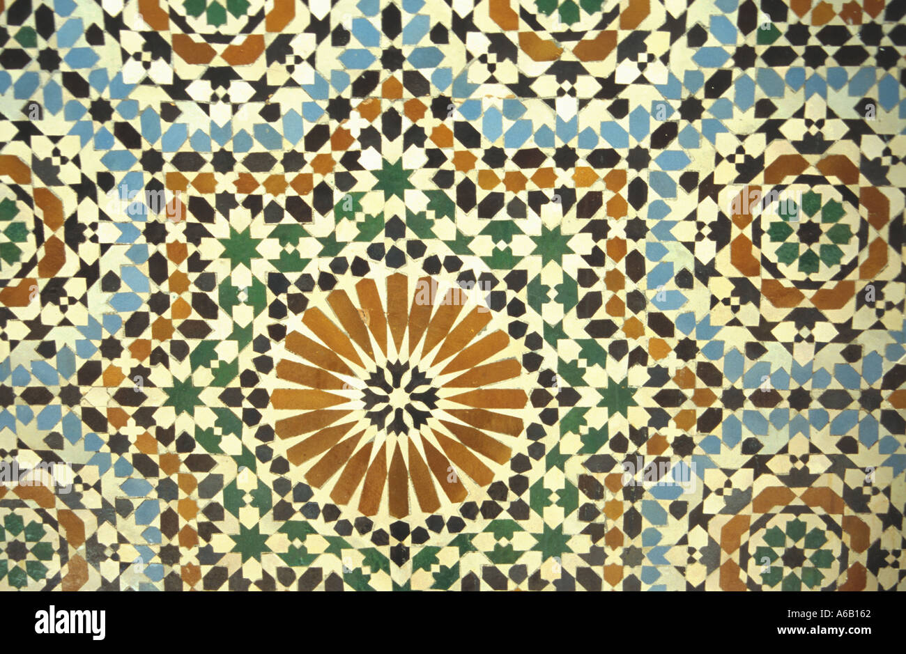 ornamental tiles iran iranian art isfahan decoration of a mosque