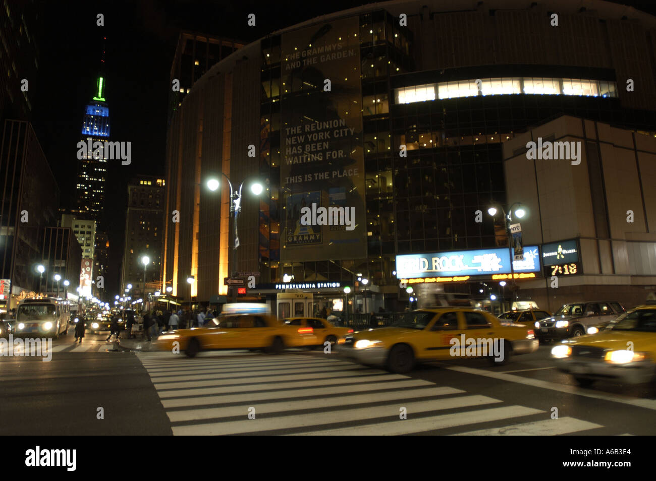 Madison Square Garden Events Stock Photos & Madison Square Garden ...