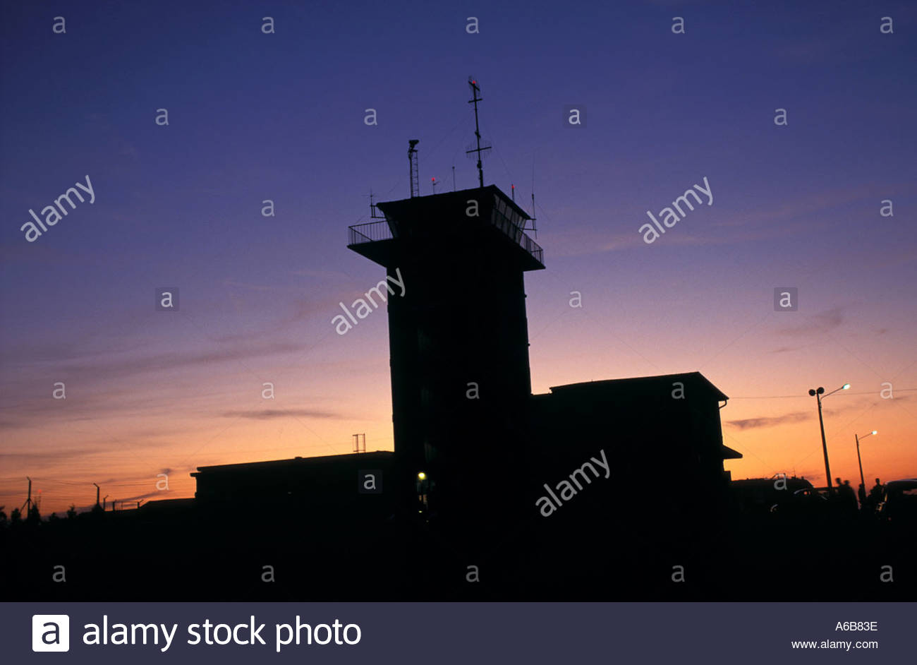 Aerial Transport Control Tower - Stock Image