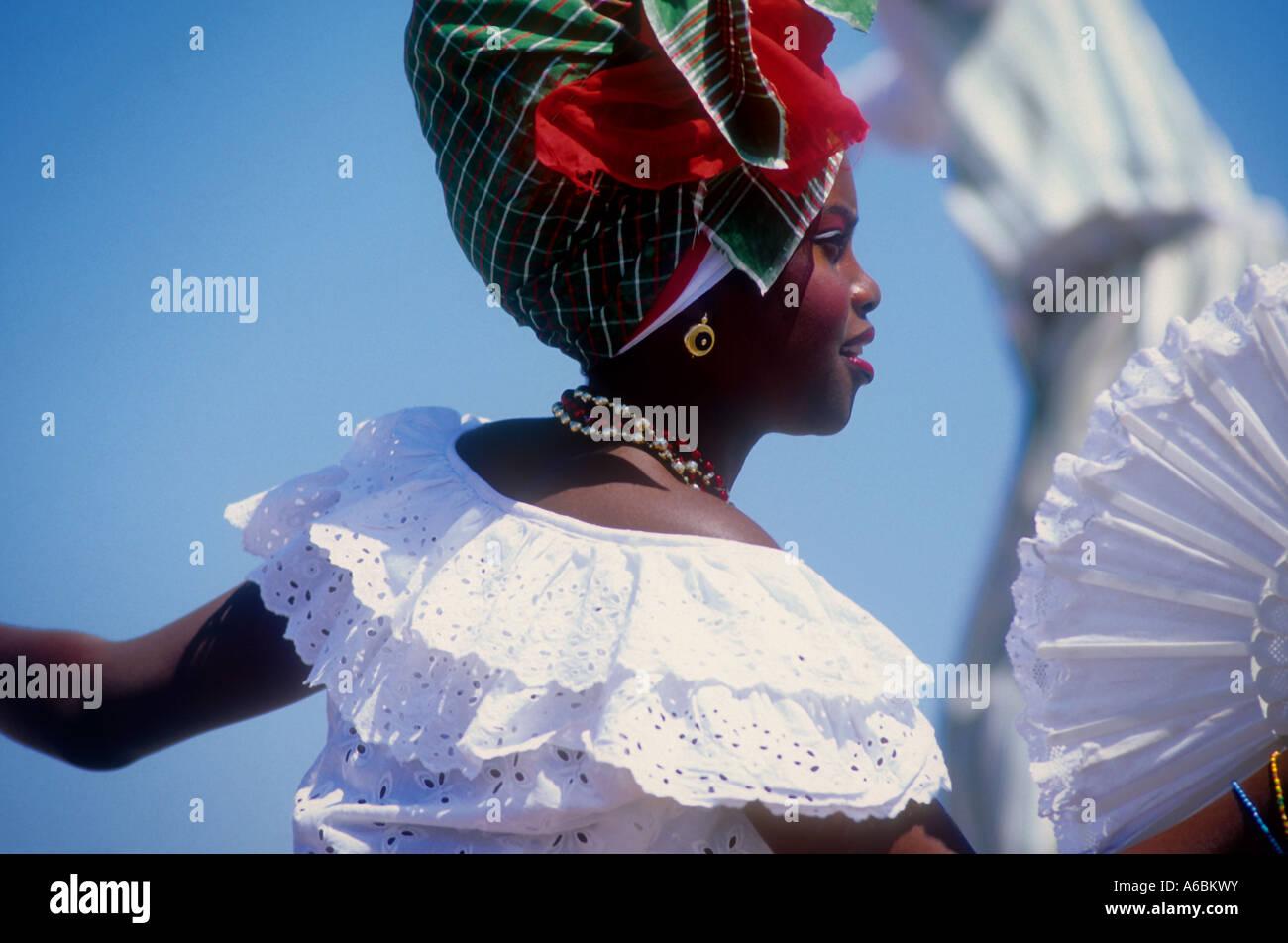 Caribbean Dancer - Stock Image
