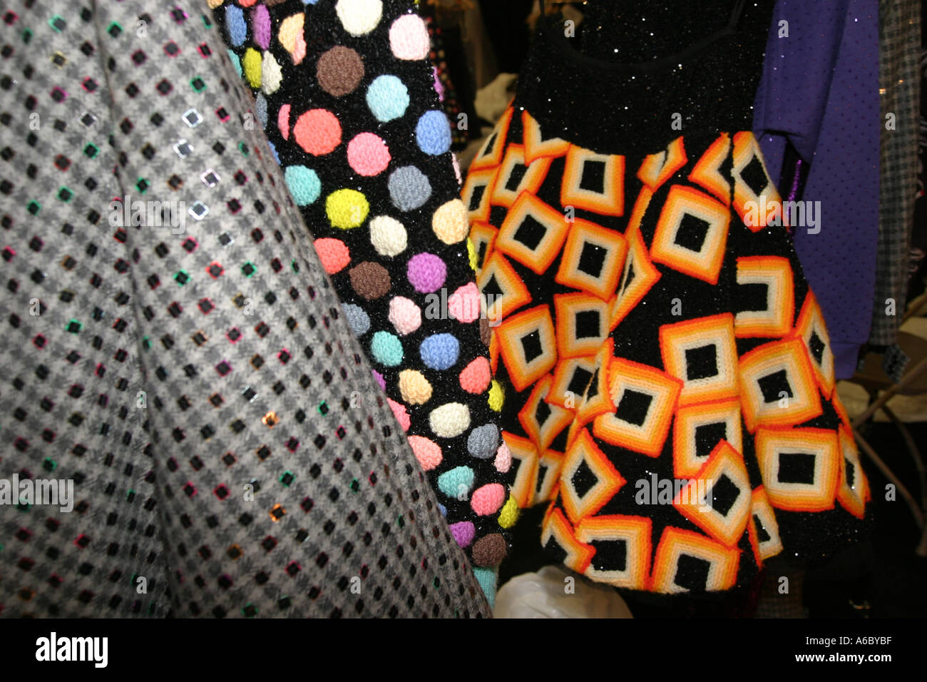 Dresses - London Fashion Week - Stock Image