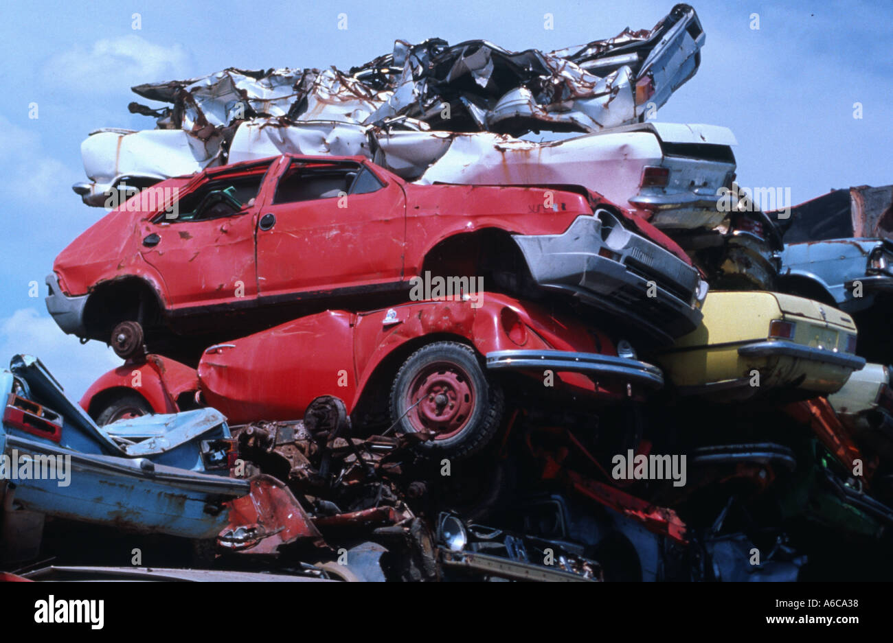 scrap car wrecks metal junk rust scrap yard scrap dealer recycling ...