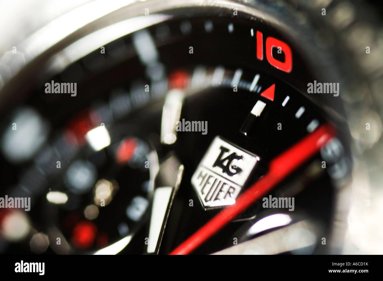 Tag Heuer wristwatch - Stock Image